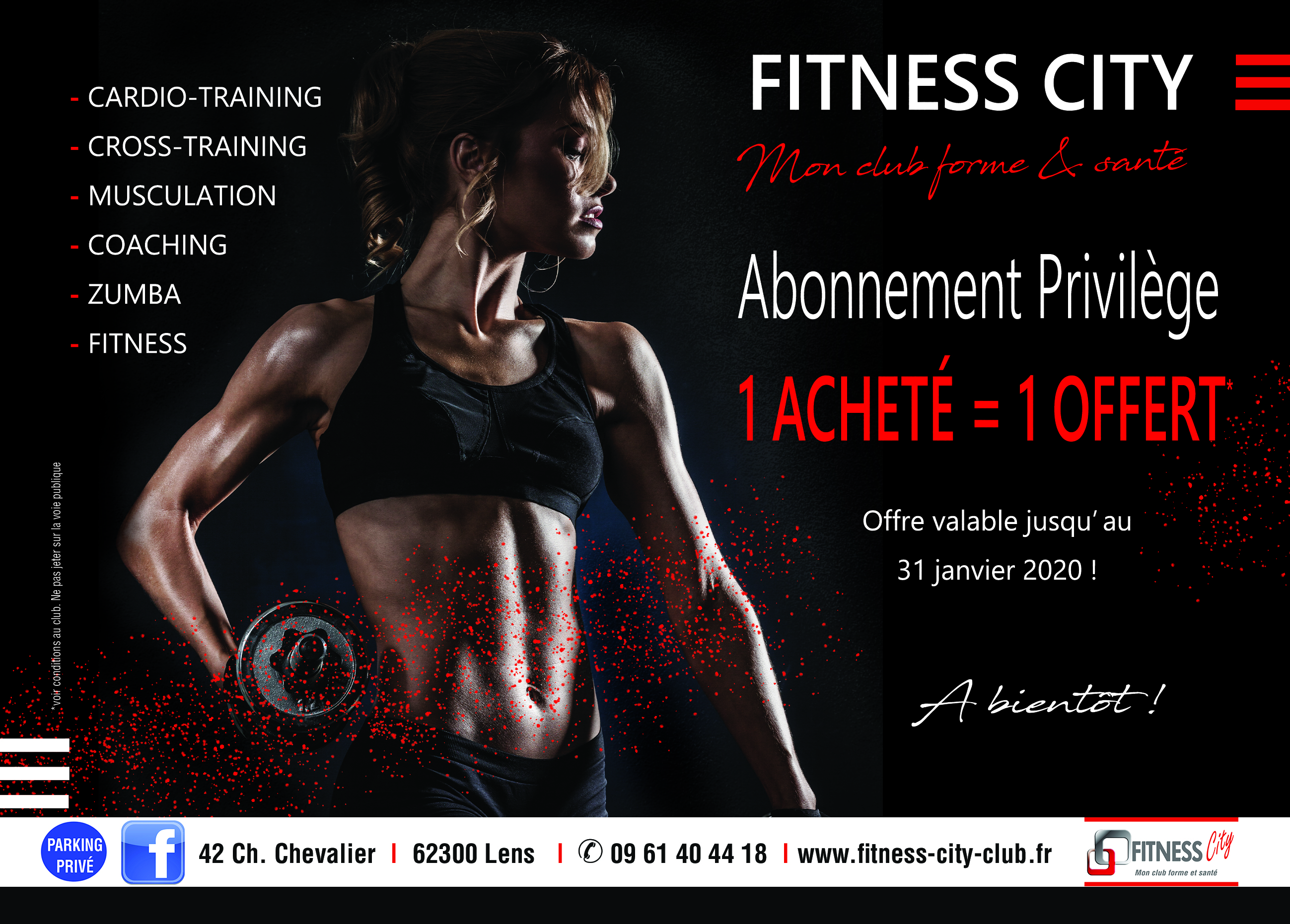 CITY FITNESS dec 19 A5 recto